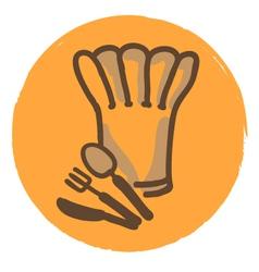 kitchen logo vector image vector image