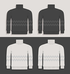sweater vector image vector image