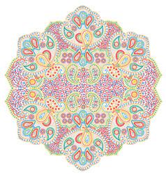 Mandala paisley vector