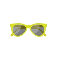 Sun glasses in a flat style Holidays and tourism vector image