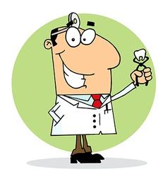 Happy Dentist Man vector image vector image