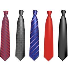 neck ties vector image