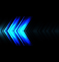 abstract blue light line arrow speed direction vector image