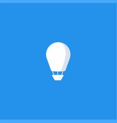 air balloon symbol design vector image