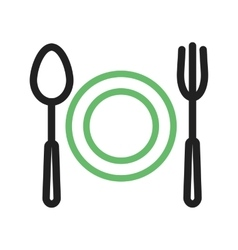Food Dinner vector image