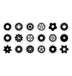 gear icon cogwheel for industry gearwheel of vector image