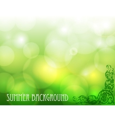 Green ecological background vector