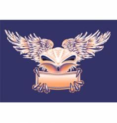 bird banner vector image vector image