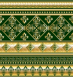 gold royal ornament vector image vector image