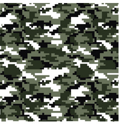 abstract background pixel camo flag pattern 2 vector image