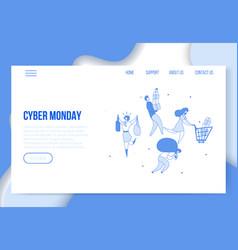 big sales online 3 vector image
