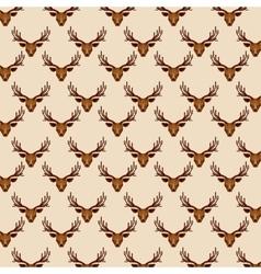 Deer low poly vector