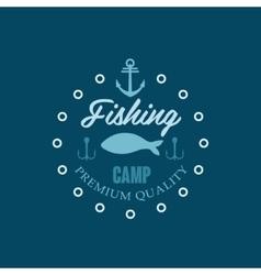 Fishing Camp Logo vector