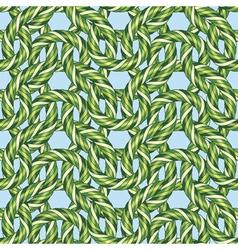 jungle plants ornament vector image