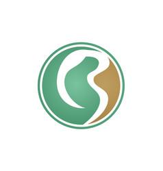 letter b modern vector image