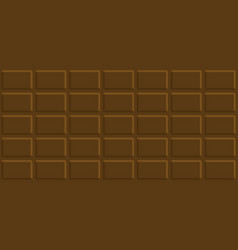 milk chocolate bar seamless pattern vector image
