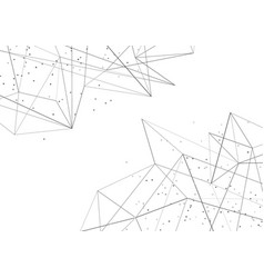 Modern abstract molecule connection network vector