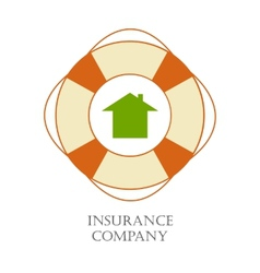 Insurance company sign vector image