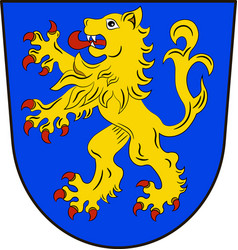 Coat of arms of ravensburg in baden-wuerttemberg vector