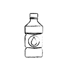 Cold water bottle vector