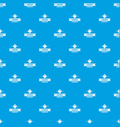 lingerie beauty pattern seamless blue vector image