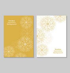 modern brochure cover design vector image
