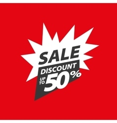 sign for discounts vector image