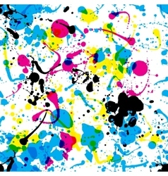 splats pattern vector image