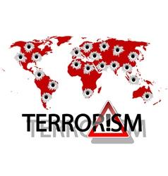 Terrorism vector image vector image