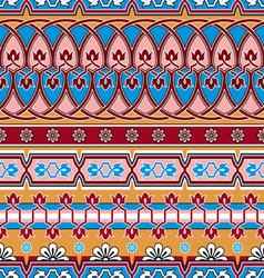 azia pattern vector image