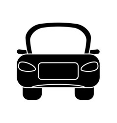Car transport vehicule pictogram vector