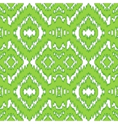 Ethnic green seamless pattern vector