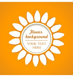 flower blend background vector image vector image