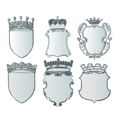 Heraldic element collection and Coat of arms vector