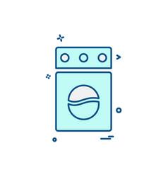 home furniture icon design vector image