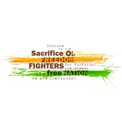 Indian Motivitational Background vector