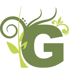 nature G vector image