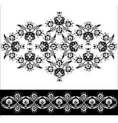 Oriental pattern version vector image