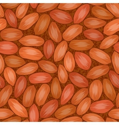 red seed coat seamless background vector image