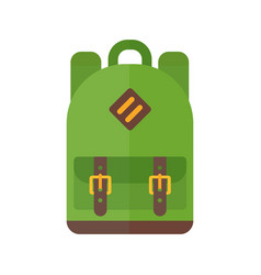 School bag isolated vector