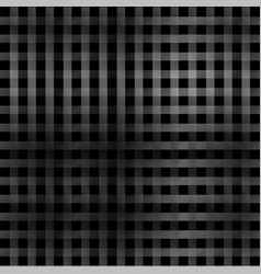 silver lines or stripes on black vector image