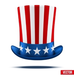 Uncle Sams hat vector image