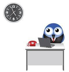 CLOCK WATCHING vector image