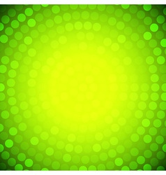Abstract Circular Yellow Background vector image