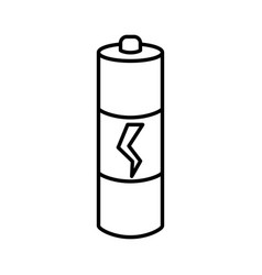 battery isolated symbol vector image