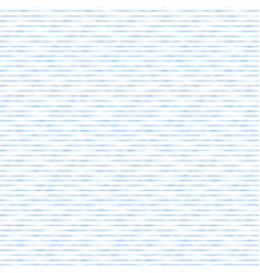 blue hand drawn horizontal stripes seamless vector image