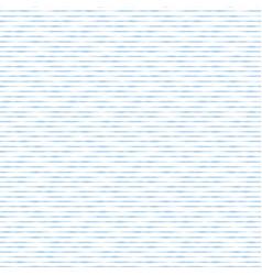 blue hand drawn horizontal stripes seamless vector image