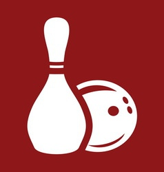 bowling4 resize vector image