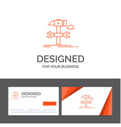 business logo template for build engineering vector image