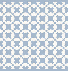 geometric seamless pattern white and blue texture vector image